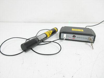 Thorlabs Hgr005 Hene Laser 543 Nm 0.5 Mw With Hene Power Supply Reo Helium Neon