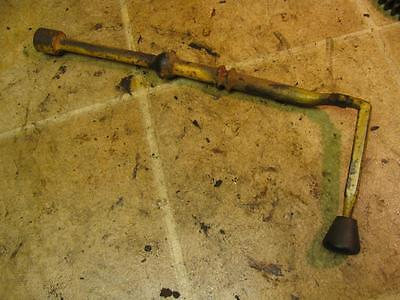 John Deere Early 1010 Tractor T16661 Dash Gear Shift Shifter Lever With Weld