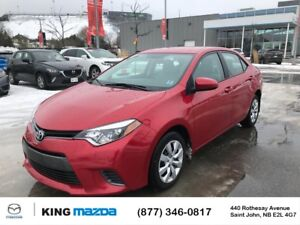 2016 Toyota Corolla LE AUTO..AIR..HEATED SEATS..BLUETOOTH..BACKU