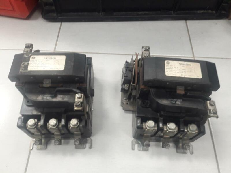 GENERAL ELECTRIC CR305E002 SIZE 3 CONTACTOR                      USA SELLER
