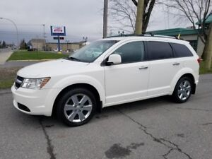 2010 Dodge Journey R/T- AWD V6- 7 PASSAGERS- CUIR- TOIT!