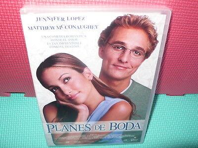 PLANES DE BODA - JENNIFER LOPEZ - dvd