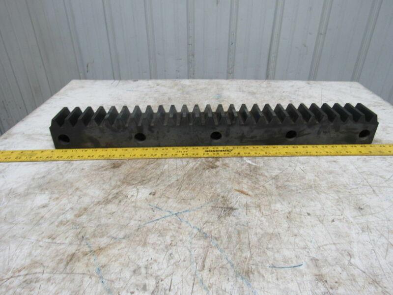 "Flat Pinion Gear Rack 26T 0.3825 MOD 3-1/8"" Face 23-1/2"" 1/2"" Pitch Approx."