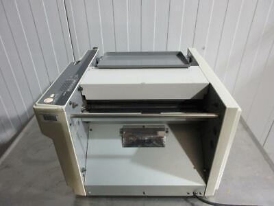 Duplo Automatic Folding Machine Paper Folder Df-505 Used Works