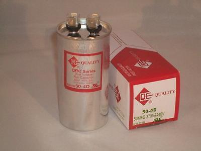 50 Mfd 370-440vac Round Electric Motor Run Oil Filled Capacitor 50 Uf Hvac Volts