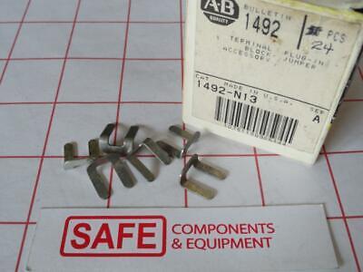 Allen Bradley 1492-n13 Series-a Box-of-24 Terminal Block Plug-in Jumper Q33-1