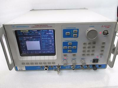 Motorola General Dynamics R2660d Iden Digital Communications System Analyzer