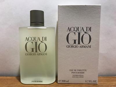 Acqua Di Gio 6.7 oz By Giorgio Armani EDT Spray Cologne For Men New In Box