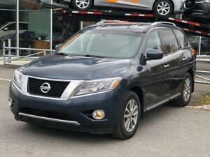 2015 Nissan Pathfinder 4X4*BLUETOOTH*7PASS*SIEGES CHAUFF*BI-ZONE