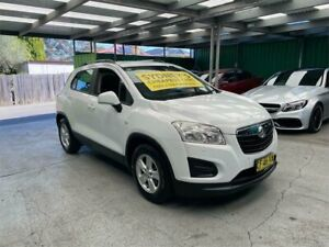 2015 Holden Trax TJ MY16 LS White 6 Speed Automatic Wagon Croydon Burwood Area Preview