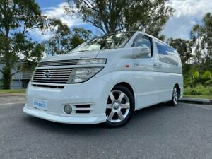 2004 Nissan Elgrand E51 Highway Star White 4 Speed Automatic Campervan Kingston Logan Area Preview