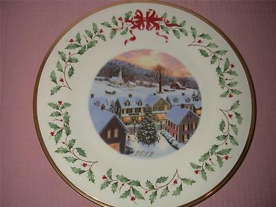 Lenox 2012 Annual Holiday Christmas Collector Plate New