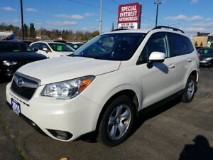 2015 Subaru Forester 2.5i ONE OWNER !!  ONTARIO VEHICLE !!