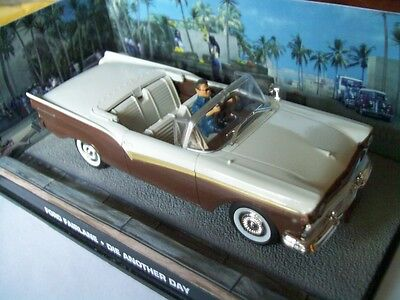 """FORD FAIRLANE from Movie """"DIE ANOTHER DAY"""" JAMES BOND 007 1/43 DIORAMA NEW"""