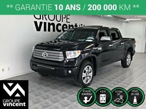 2015 Toyota Tundra Platinum **GARANTIE 10 ANS