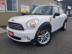 2011 MINI Cooper Countryman LEATHER-PAN SUNROOF-ALLOY WHEELS