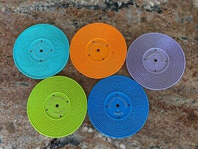 VINTAGE 1971 Fisher Price Music Box Record Player Replacement Discs