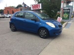 2007 Toyota Yaris H/B,AUTO,4DR,EXTRA CLEAN,SAFETY+3YEARS WARNTY