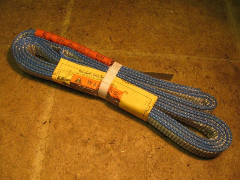 """Liftall EN1-801T 6 Foot Web Slings 1"""" Wide"""
