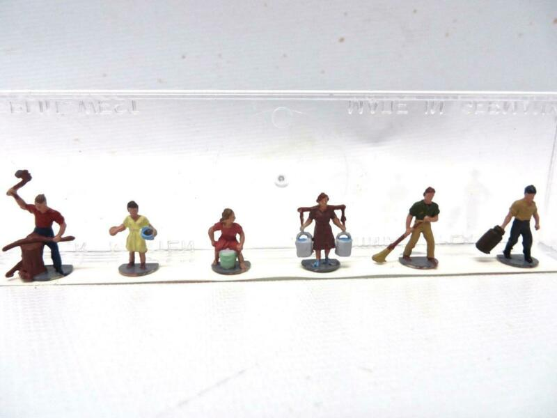 "Merten T896 TT Gauge Figures ""Farm Workers"" New Old Stock LOW SHIPPING"