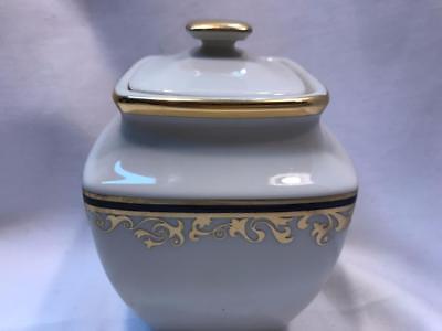 Lenox China Covered Sugar Bowl (Lenox Discontinued China Eclipse Covered Sugar Bowl New)