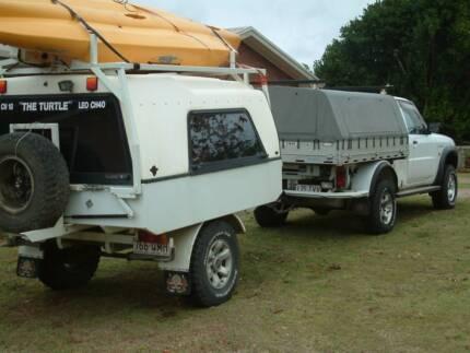 Camper Trailer with Aussie Traveller Awning