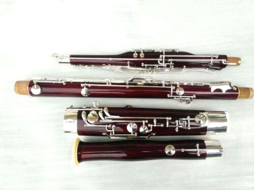 Yinfente Bassoon C tone 26 keys great maple + Fine quality Free case