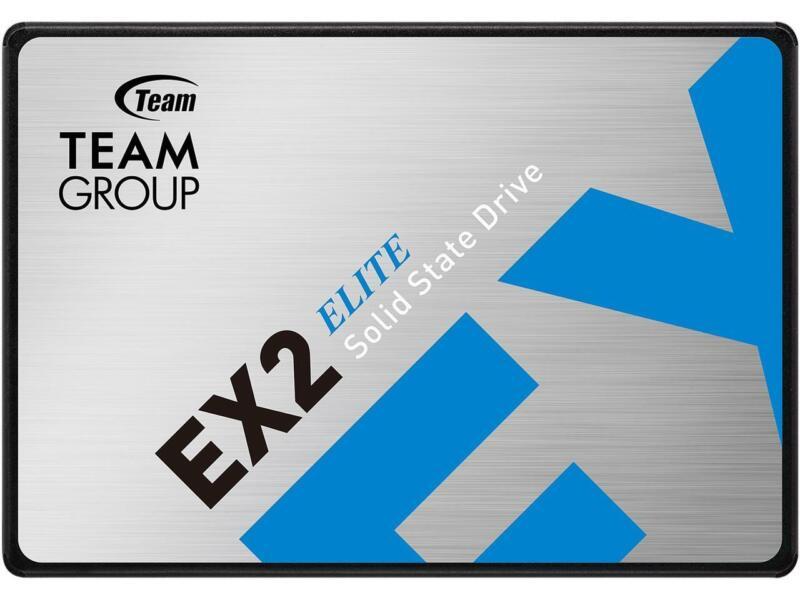 "Team Group EX2 2.5"" 512GB SATA III Internal Solid State Drive (SSD) T253E2512G0C"