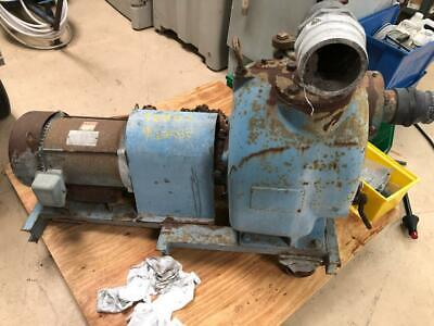 One Used Gorman Rupp T Series 3 Self Priming Centrifugal Pump