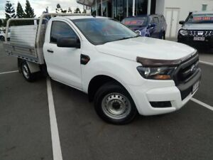 2016 Ford Ranger PX MkII XL White 6 Speed Manual Cab Chassis North Lakes Pine Rivers Area Preview
