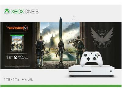 Xbox One S 1TB Console - Tom Clancy's The Division 2 Bundle