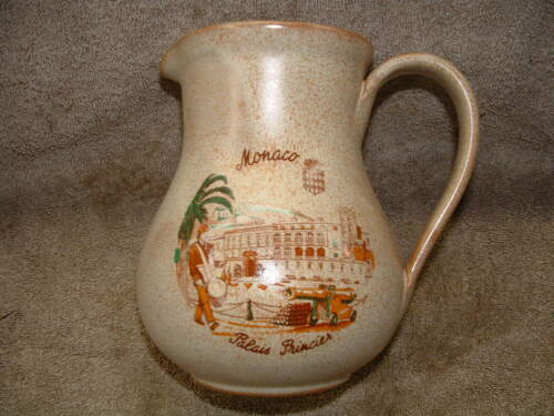 RARE OLD PITCHER OR VASE MONACO PALAIS PRINCIER