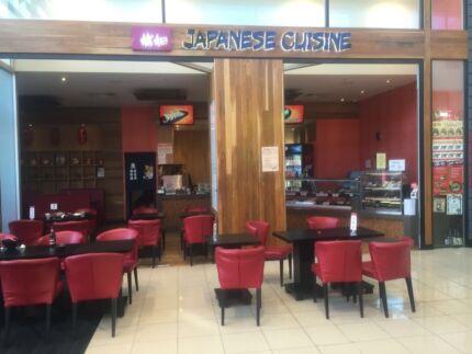 Elizabeth Japanese Restaurant for sale