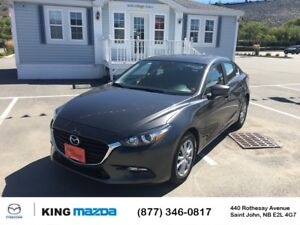 2017 Mazda Mazda3 GS SPORT SEDAN..6 SPEED..SUNROOF..HEATED SEATS