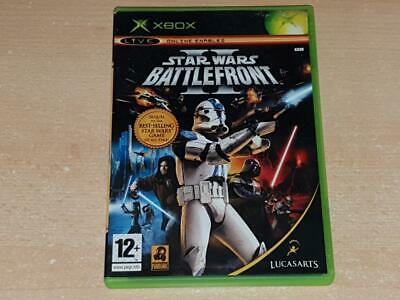 Star Wars Battlefront II 2 Original Xbox Game UK PAL **PLAYABLE ON XBOX ONE**