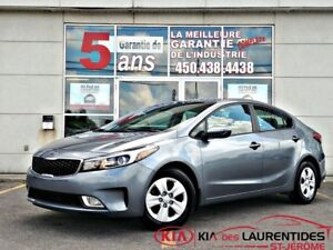 2017 Kia Forte 2017**LX+**ANDROID AUTO/CARPLAY**BANC CHAUFFANT