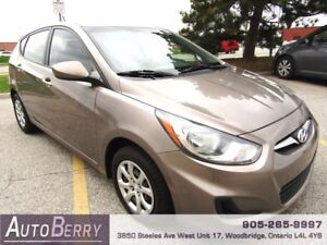 2013 Hyundai Accent GLS ***CERTIFIED 5 SPEED*** $5,999