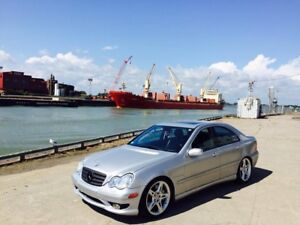 Mercedes c32 amg 3.2 supercharged 2003 410 hp