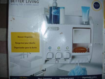 Shower Organiser Shampoo Shower Gel Conditioner Dispenser NEW!!