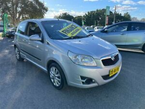 2009 Holden Barina TK MY09 Silver 4 Speed Automatic Hatchback Lidcombe Auburn Area Preview