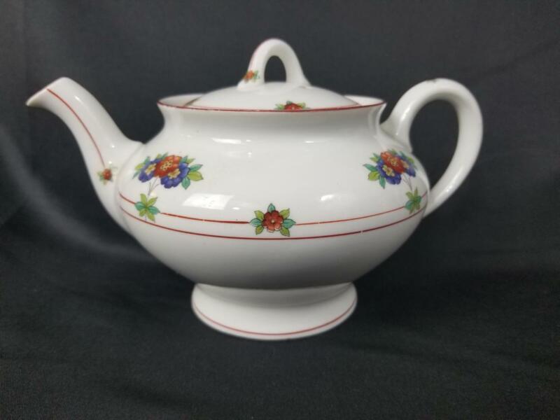 D&H RAILROAD SYRACUSE CHINA ~CANTERBURY~ Teapot TEA POT NICE& RARE