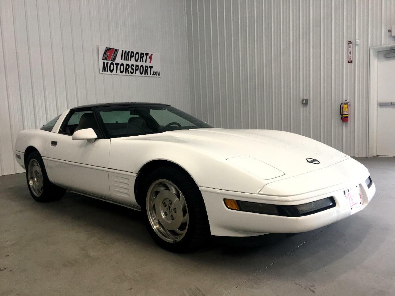 1994 White Chevrolet Corvette Coupe    C4 Corvette Photo 1