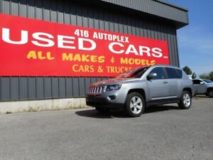 2016 Jeep Compass High Altitude Leather Roof 4X4