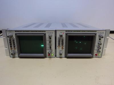 Leader Lvs-5850b Ntsc Vectroscope And Lbo-5860a Waveform Monitor  C1c
