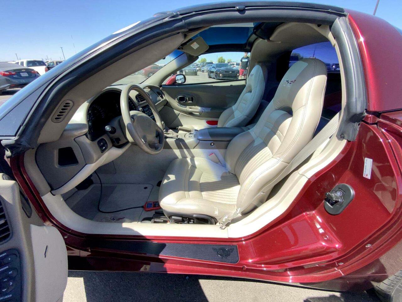 2003 Burgundy Chevrolet Corvette     C5 Corvette Photo 5