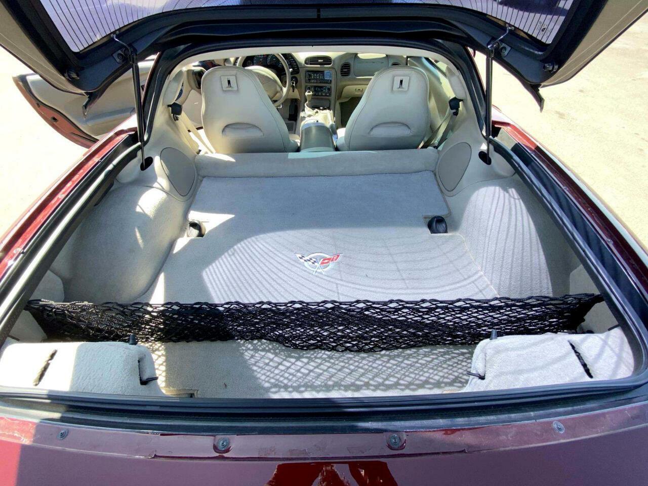 2003 Burgundy Chevrolet Corvette     C5 Corvette Photo 6