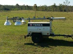 Terex AL4 Lighting Tower Generator Wurdong Heights Gladstone City Preview
