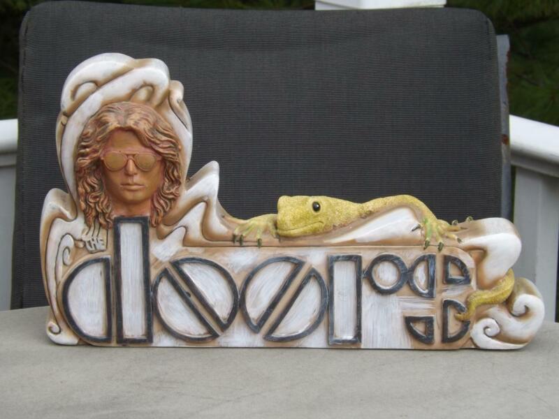 The Doors Jim Morrison Lizard King Incense Burner Statute