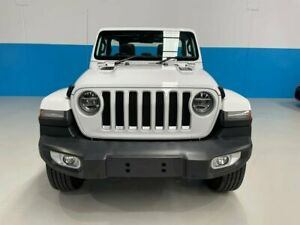 2020 Jeep Wrangler JL MY20 Unlimited Overland White 8 Speed Automatic Hardtop