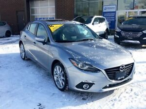2015 Mazda Mazda3 GT GT SPORT HB! ONE OWNER, NO ACCIDENTS!